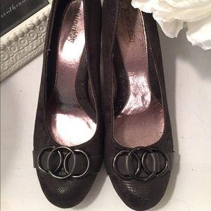 Brown Heels Size 9